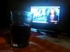 Kl 19:47 Jag har ätit lite kvällsmat framför TV:n och sitter fortfarande kvar och har nyheterna på.