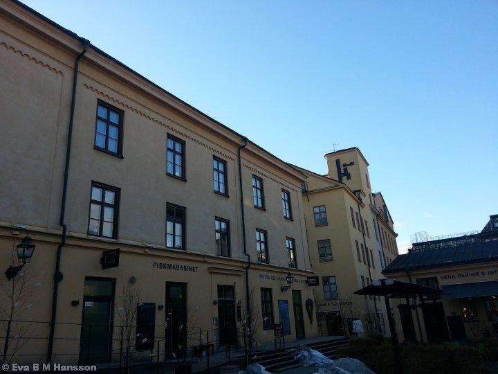 Del av Industrilandskapet. Knäppingsborg kl 17:01 den 18 mars 2013.